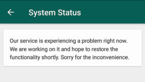 WhatsApp goes down for a while, Twitter goes berserk
