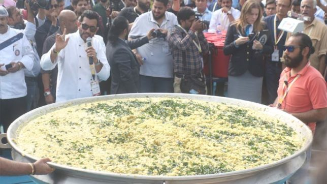 World Food India: 918 kg Brand India 'khichdi' enters Guinness World Record