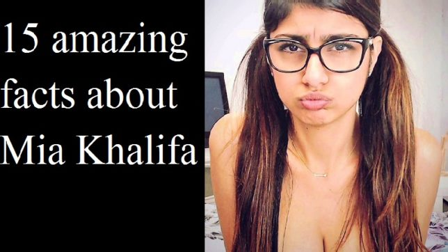 15 amazing unknown facts about former adult star Mia Khalifa