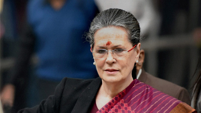 Sonia Gandhi says Congress has numbers for no-trust motion