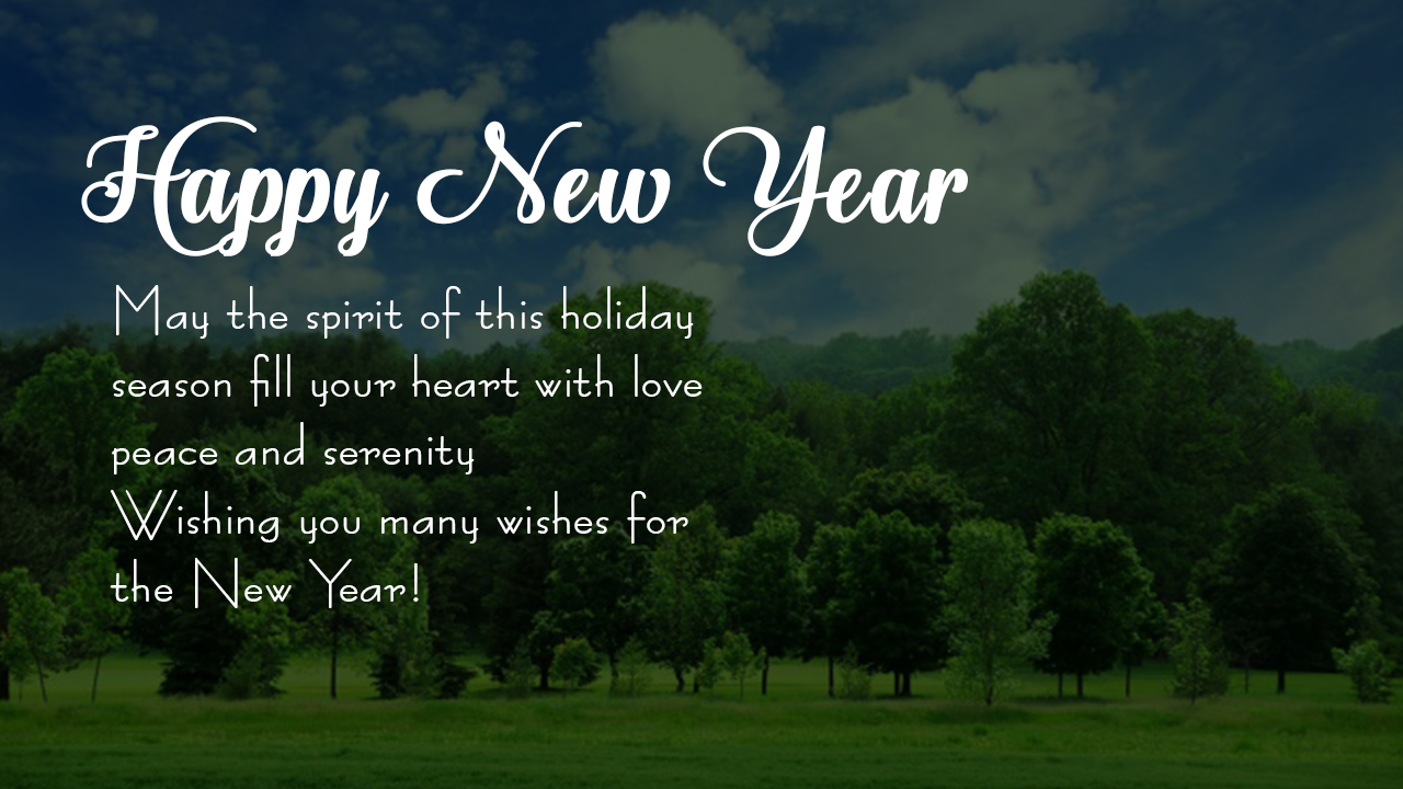 Happy New Year Messages And Wishes In English For 2018 Whatsapp