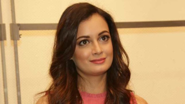 Gurugram: Actress Dia Mirza during the launch of Nissan Micra's