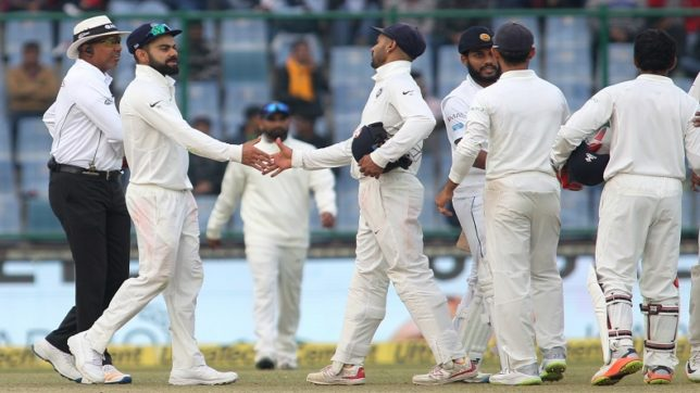 India reigns supreme against Sri Lanka, registers 9th series win on the trot