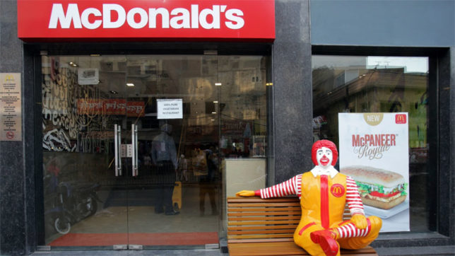 McDonald's India says food quality substandard, asks customers to shy away from East, North Indian outlets
