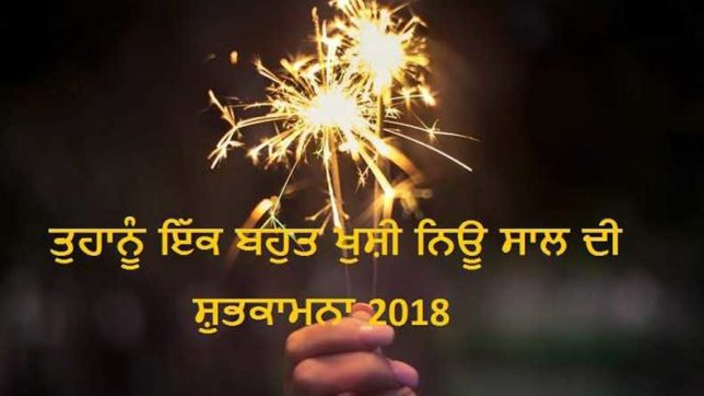 Happy New Year messages and wishes in Punjabi for 2018: WhatsApp messages, new year wishes and greetings, SMS, Facebook posts to wish everyone