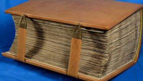 Giant Bible returns to England after 1300 years