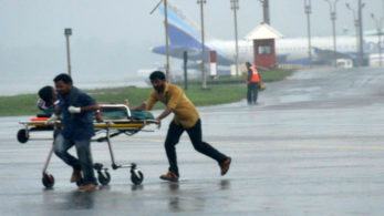 The Indian Navy's search-and-rescue operations and humanitarian assistance in the aftermath of cyclone Ockhi continued on Thursday