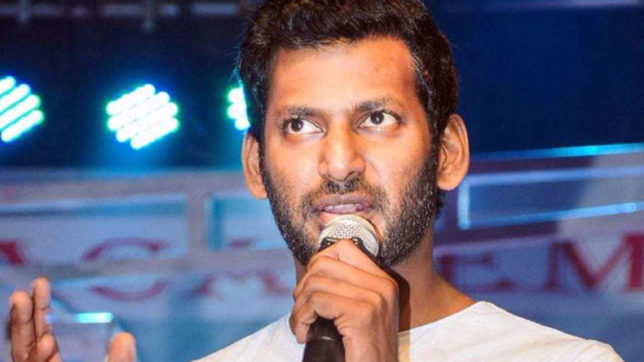 Actor Vishal Krishna mourns the death of democracy