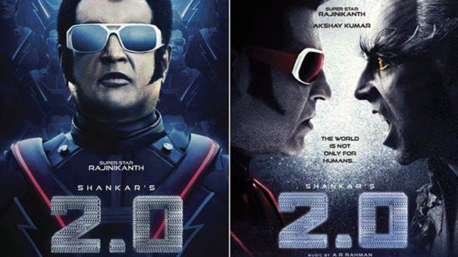Rajinikanth 2.0 Movie Photos: Never seen pictures from the movie