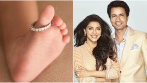 Adorable! Asin shares the first glimpse of her baby girl on her 2nd wedding anniversary