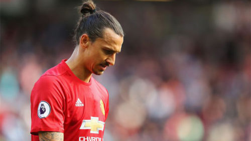 Manchester United striker Zlatan Ibrahimovic wants to end career at highest level Jose Mourinho