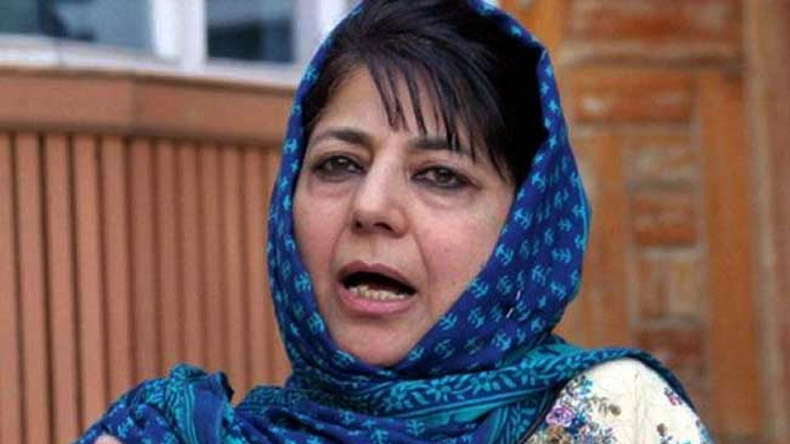 People of J&K would gain only from India and not anywhere else: Mehbooba Mufti