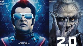 Rajinikanth's upcoming movie 2.0 will hit theatres in April 2018