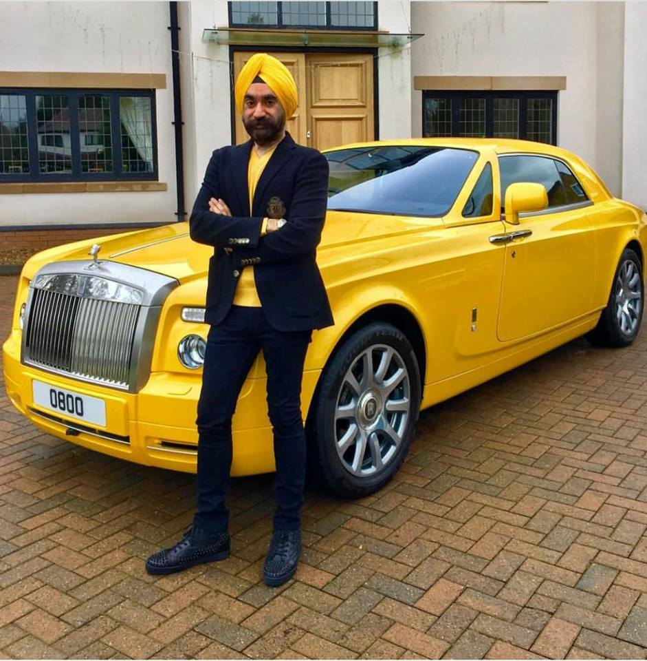 meet the sikh businessman who complements his turban with a matching