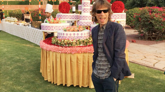 Rolling stones Mick Jagger explores Rajasthan on a Tuk Tuk ride