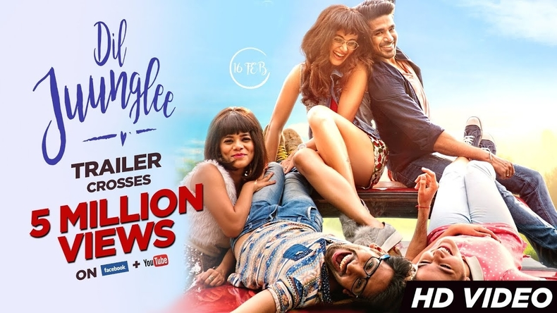 Dil Junglee trailer: Taapsee Pannu and Saqib Saleem all set to take you on a comedic rollercoaster this Valentine's day