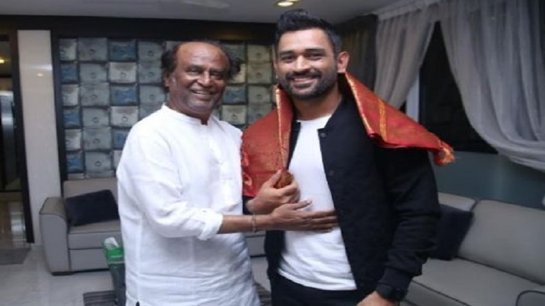 Watch video: Superstar Rajinikanth picks MS Dhoni as his favourite cricketer