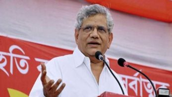 Yechury ruled out the possibility of a tie-up with the Congress, claiming most Congress activists were earlier gobbled up by the Trinamool Congress and the rest have now come under the BJP's banner