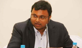Karti Chidamabaram appears before ED in money laundering case