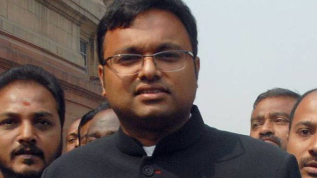 ED raids Karti Chidambaram's premises LIVE updates: They searched and found nothing, says P Chidambaram