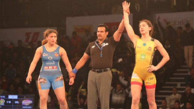 Pro Wrestling League 2018 Season 3 Day 13 highlights: Veer Marathas defeat Delhi Sultans by 5-2; keep hopes of reaching semis alive