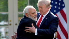 In first year, US President Donald Trump firms up ties with India
