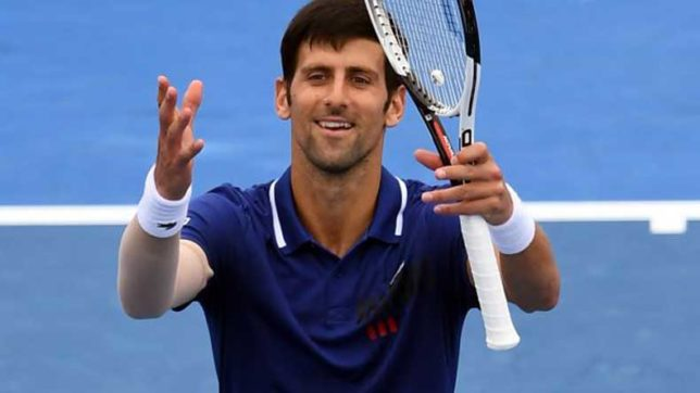 Novak Djokovic looks forward to try out new serves at Australian Open