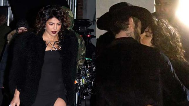 Priyanka Chopra shares a steamy kiss with her Quantico co-star Alan Powell