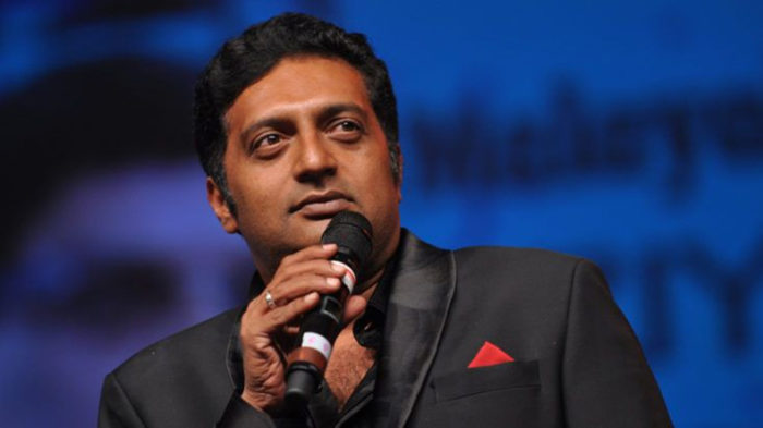Prakash Raj attends event in Karnataka; irked BJP Yuva Morcha workers 'cleanse' stage with cow urine