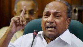 AK Antony rebukes Kerala CPI-M for ruling out anti-BJP pact with Congress