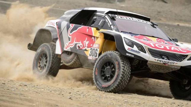 French veteran Sebastien Loeb wins Dakar Rally 4th stage; CS Santosh gains 40 positions