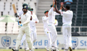 India vs South Africa: India 45/2 at Lunch after losing openers early
