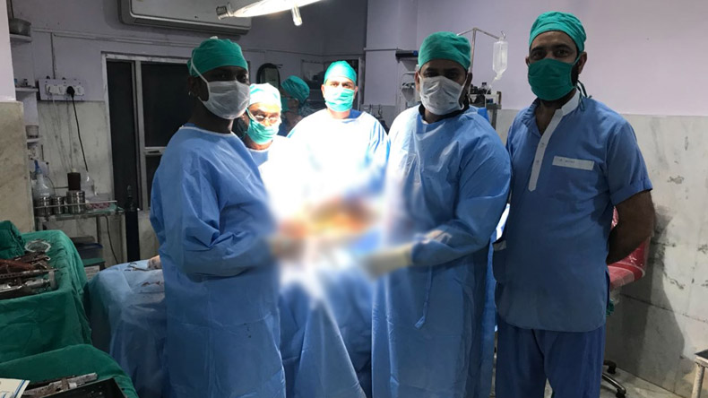 First hip joint replacement surgery in Jammu region gives youth new life