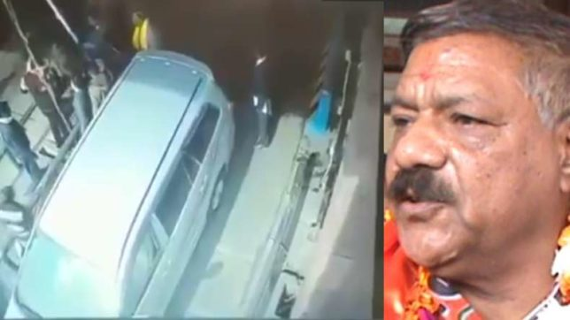 UP BJP legislator sits in car while son thrashes toll plaza employee; cars told to pass without payment