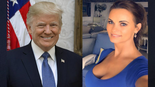 Former Playboy playmate Karen McDougal alleges cover-up of sexual relationship with US President Donald Trump in 2006