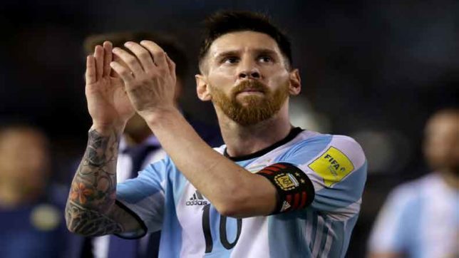 Lionel Messi urged to play less for Barcelona keeping FIFA World Cup 2018 in mind