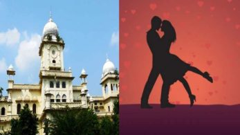 Student lovers, Lucknow University valentine day, valentine day in lucknow, Valentine's day at Lucknow university, V Day, Valentine Day, Lucknow University, Maha Shivratri, western, lovers day, love day 2018, national news, breaking news, lucknow news, regional news, top news