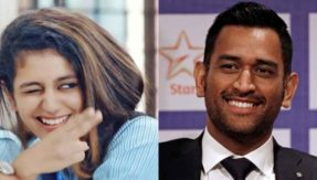MS Dhoni is internet sensation Priya Prakash Varrier's favourite cricketer and we are not surprised