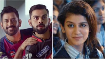 After taking over the social media with her beautiful smile, it seems like Priya Prakash Varrier's fandom has even reached the cricket world
