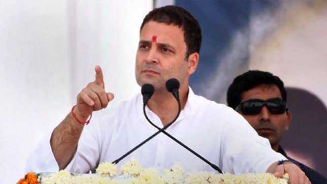 Congress president Rahul Gandhi questions silent attitude of PM Modi over PNB scam