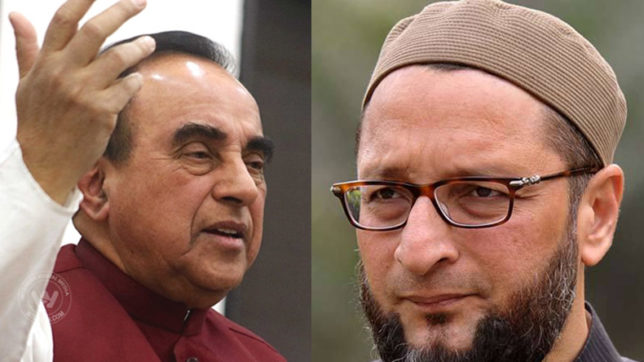 Can Asaduddin Owaisi count how many Muslims are in terror organisations: Subramanian Swamy