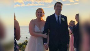 Comedian Amy Schumer weds Chef Chris Fischer in a small California wedding