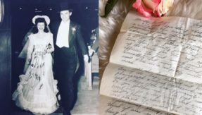 Jewish couple's WW II letters resurface after 59 years; posts go viral