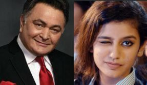 I predict huge stardom for the girl, says veteran actor Rishi Kapoor after Priya Prakash Varrier wins his heart