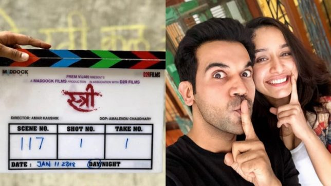 Image result for images of rajkumar rao in his new movie stree
