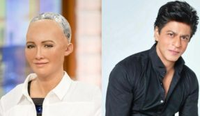 Just like us humans, Humanoid Sophia's favourite actor is Shah Rukh Khan
