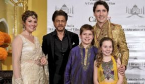 Canada PM Justin Trudeau meets Bollywood stars; tweets pic with Shah Rukh Khan