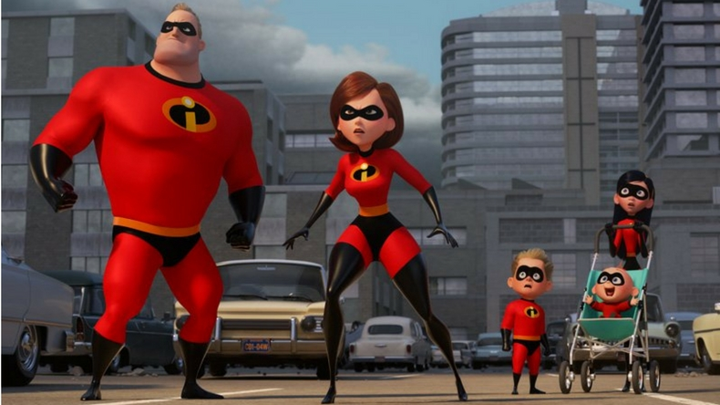 incredibles, the incredibles 2, trailer release, mr incredible, elastigirl, dash, violet, frozone, bard bird, edna mode, jack-jack, samuel l jackson, craig nelson, new release, olympics 2018