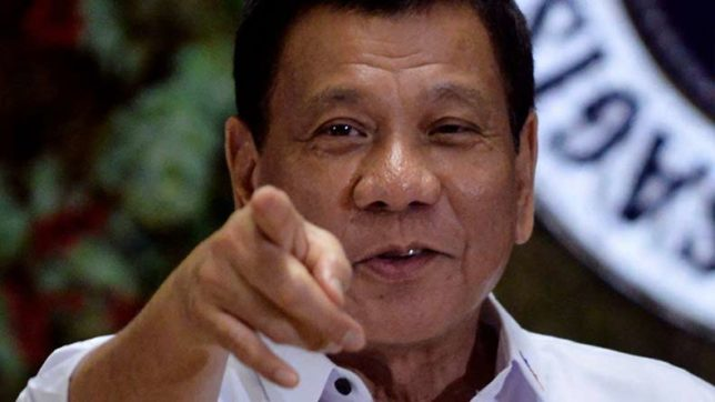 After offering 42 virgins to boost tourism, President of Philippine asks soldiers to shoot rebels in vagina
