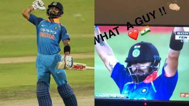 'What a guy', Anushka Sharma lauds husband Virat Kohli after splendid 35th ODI ton against South Africa